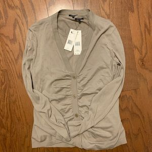 Lafayette 148 cardigan and blouse L